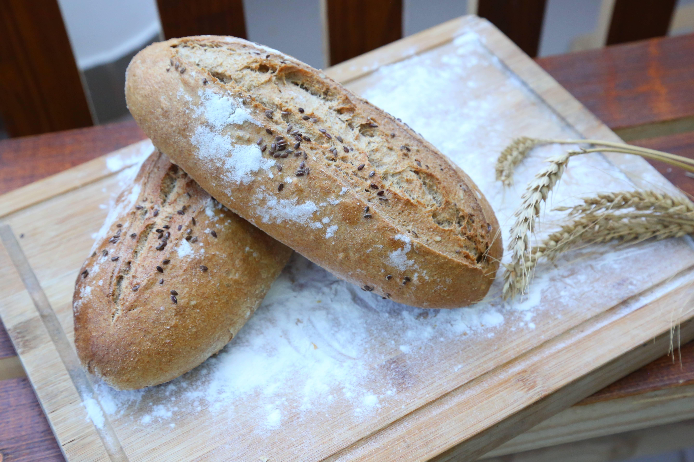 Paine cu maia - Cosul cu paini